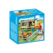 Playmobil Klatka dla królików z wybiegiem 6140