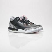 """Jordan Brand air jordan 3 retro og (gs) """"black cement"""" Black/Fire Red/Cement Grey/White"""