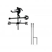 Svens Girouette Footballeur petit modèle + Mât à planter