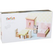 Jucarie Din Lemn Cubika - Set Constructii - My Bedroom