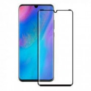 Folie protectie Case friendly 4smarts Second Glass Curved Colour Frame Huawei P30 Black
