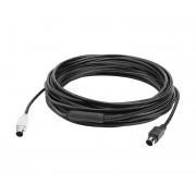 Logitech 10m verlengkabel voor videoconferentie-Systeem (Group)