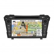DVD Player auto cu navigatie Car Vision DNB-i40 dedicat Hyundai i40