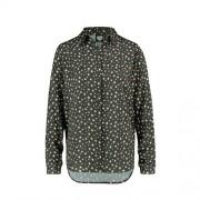 Catwalk Junkie blouse Galaxy met sterren antraciet/wit/rood