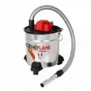 """OUTIROR aspirateur cendres """"ceneflame"""" electrique 18l 1200w + roues"""