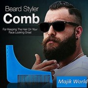 The Beard Shaper Mustache Facial Hair Shaping Tool For Men