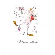 Gratulationskort mini Love 3