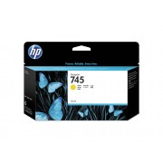 HP Cartucho de Tinta Original HP 745 de 130 ml F9J96A Amarillo para DesignJet Z2600 PostScript, Z5600 PostScript