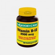 GOOD CARE VITAMIN B-12 2500mcg SUBLINGUAL 100 COMPRIMIDOS
