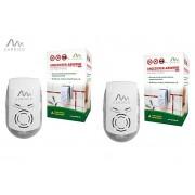АКЦИЯ - 2 бр. Комбиниран ултразвук и електромагнитен уред против мишки, плъхове и пълзящи насекоми PLUS за 230 кв. м, Gardigo