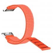 Closure Nylon Watch Wrist Band for Garmin Fenix 5S/5S Plus - Orange