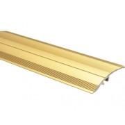 Profil de trecere aluminiu 900x40x5,7 mm auriu