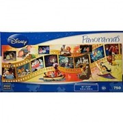 DISNEY Panoramas MOVIE MOMENTS 750 Piece Puzzle by Mega Puzzles