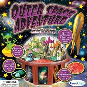 Grow your own Galactic Space Terrarium Outer space adventure science kit For Ages 3+