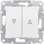 SEDNA Redőnynyomó Fel-le jelzéssel 10 A IP20 Fehér SDN1300121 - Schneider Electric