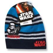 Detská zimná čiapka - STAR WARS, tm.modrá veľkosť: 52