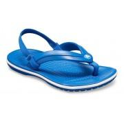 Crocs Crocband™ Strap TeenSlippers Kinder Blue Jean 28