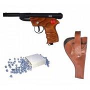 Prijam Air Gun Bsw-1 Model With Metal Body For Target Practice 100 Pellets Free