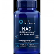 Optimized NAD+ Cell Regenerator™ and Resveratrol, 300 mg, 30 vegetarian capsules