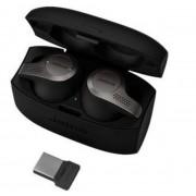 Jabra/GN Netcom Jabra Evolve 65t UC - Bluetooth Kopfhörer Schwarz/Grau