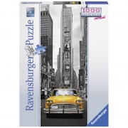 Puzzle Taxi New York 1000 piese Ravensburger
