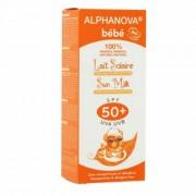 alphanova bebe lait solaire très haute protection spf 50+