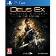 Deus Ex: Mankind Divided Day 1 Edition, за PS4