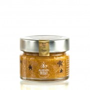 Crema de miere cruda poliflora, migdale rumenite, scortisoara si sare de mare 150g