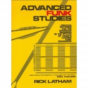 Alfred Music Advanced Funk Studies Rick Latham, Drums incl. 2CDs