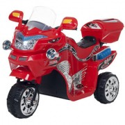 Oh Baby Baby Battery Operated Bike Assorted Color With Musical Sound And Back Basket For Your Kids SE-BOB-50