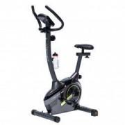 Bicicleta fitness magnetica B380 Techfit Negru Volanta 6 kg Greutate utilizator 100 kg 8 trepte de intensitate