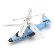 The Flyer's Bay 2.0 Powerful Radio Controlled Helicopter, Blue