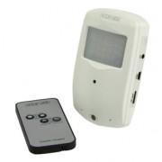 Zeer kleine beveiligingscamera in PIR behuizing met Micro SD...