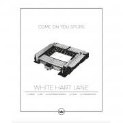 Sverigemotiv-White Hart Lane London Poster 50x70cm