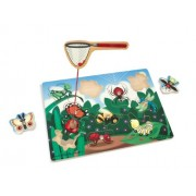 Melissa & Doug Bug-Catching Magnetic Game (10 Piece),Multicolor