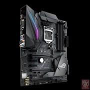 Asus ROG STRIX Z370-F GAMING, Intel Z370, VGA by CPU, 3xPCI-Ex16, 4xDDR4, 2xM.2, DVI/HDMI/DP/USB3.1/USB Type-C, ATX (Socket 1151)