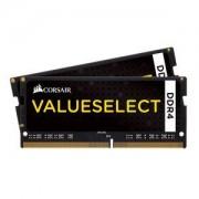 Mémoire RAM Corsair Value Select SO-DIMM DDR4 32 Go (2 x 16 Go) 2133 MHz CL15 - Kit Dual Channel RAMPC4-17000 - CMSO32GX4M2A2133C15 (garantie 10 ans par Corsair)