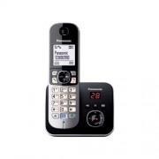 Panasonic Cordless Dect Con Segreteria - Elegante Telefono Dall'ampio Display Lcd Bianco