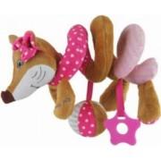 Spirala cu jucarii Sly Fox Pink