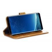 dbramante1928 Copenhagen 2 Leather Wallet Samsung Galaxy S8 Hoesje Tan