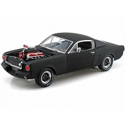 1965 Shelby Gt 350 R, Black Shelby Sc178/Mbk 1/18 Scale Diecast Model Toy Car