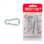 Ochi de blocare tip 1 - din 5299, otel zincat - 8 x 80 - [2 buc]