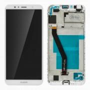Clappio Repuesto Pantalla LCD/Táctil Blanca para Huawei Y6 2018