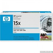 HP 15X Black LaserJet 1200/ 1220/ 3300 High-capacity Ultraprecise Print Cartridge (up to 3,500 pages) (C7115X)