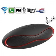 BAY Mini Rugby style Bluetooth Speakers connect with FM / Pen Drive / SD Card / Etc.(Color Per Availability)