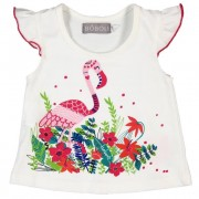 Tricou vara flamingo Boboli