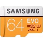 Samsung EVO 64 GB SDXC Class 10 100 Mbps Memory Card(With Adapter)