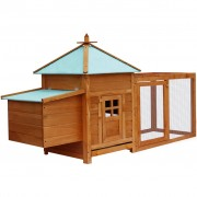 vidaXL Outdoor Chicken Coop