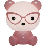 Zahab Pink Teddy Bear Cartoon Led Desk Lamp/Table Lamp/Night Light for Kids Children Study Lamp in Living Room Bedroom