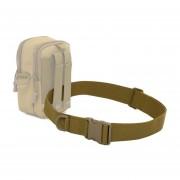 Paseos Al Aire Libre Senderismo Deportes Estilo Militar Multifuncional De Correa De La Cintura (Khaki)